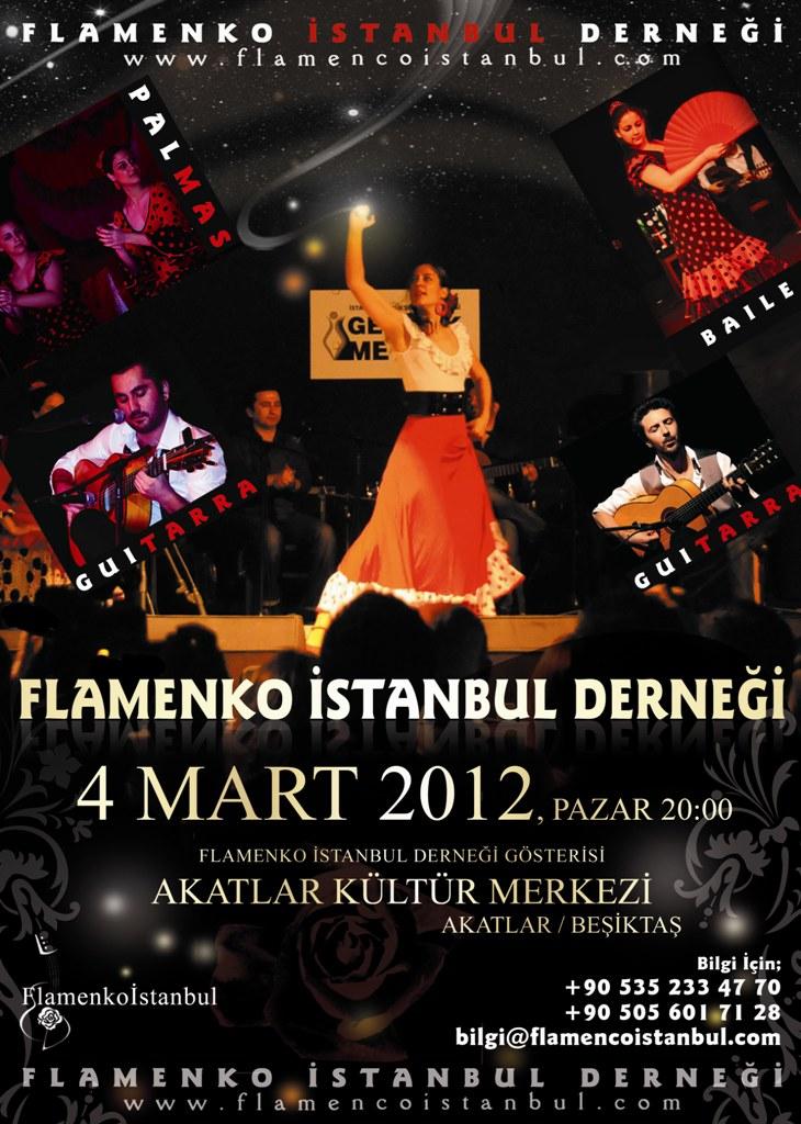 flamenko gösteri