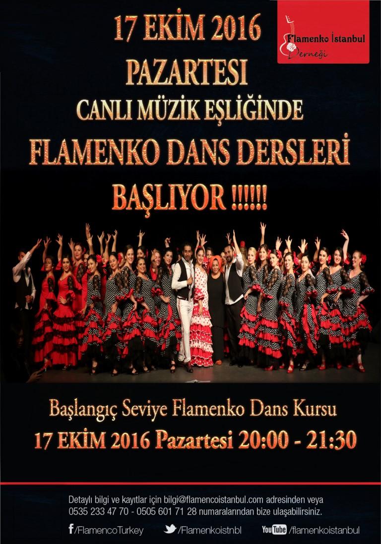 flamenko istanbul dans kursu