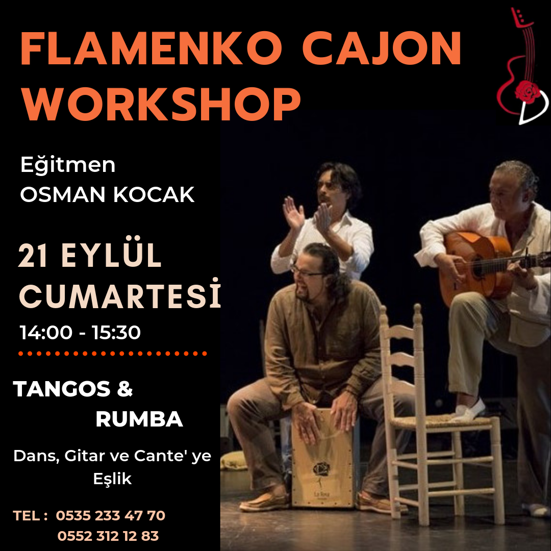 flamenko cajon palmas workshop