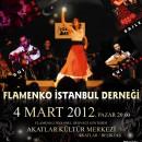 Flamenko İstanbul Akatlar Kültür Merkezi'nde 4 Mart 2012, Pazar